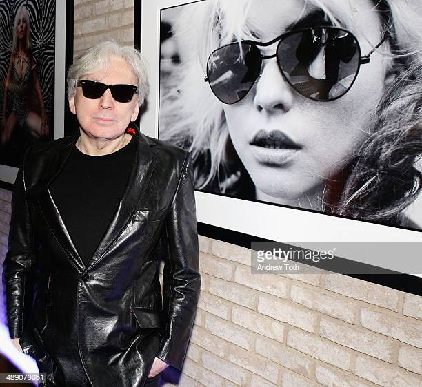 Musician and photographer Chris Stein attends the 'Blondie 4 Ever' Exhibition Opening at Morrison Hotel Gallery on May 9 2014 in New York City