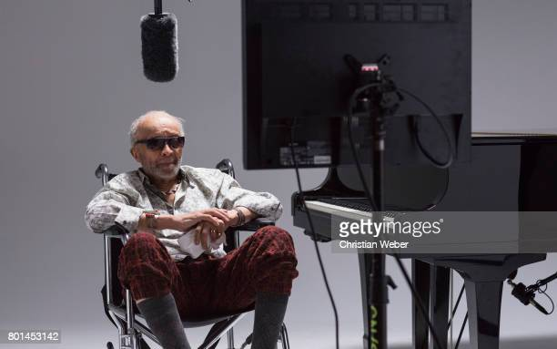 Musician and poet Cecil Taylor photographed for GQ Conde Nast on September 15 in New York City