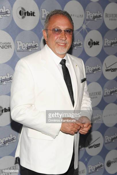 Musician and producer Emilio Estefan attends the People en Espanol Los 50 Mas Bellos party at Gustavino's on May 20 2010 in New York City