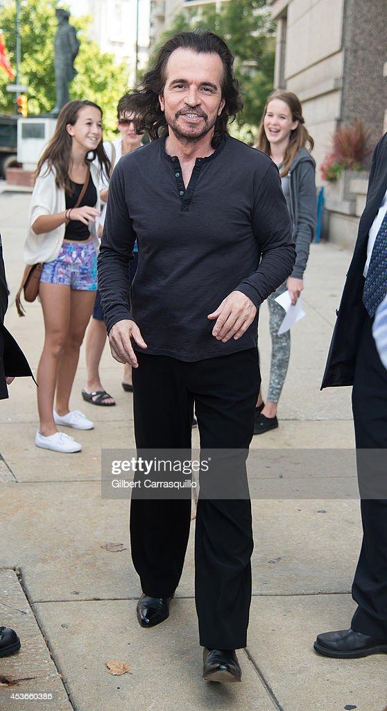 Celebrity Sightings In Philadelphia - August 15, 2014