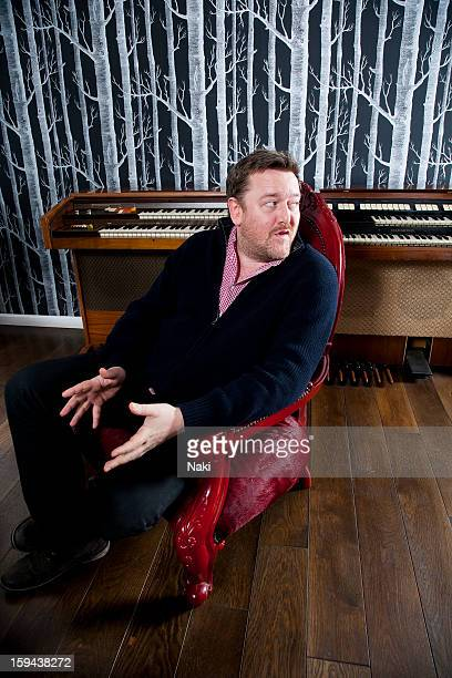 Musician and radio presenter Guy Garvey of Elbow poses for a portrait session at Blueprint Studios in Manchester on 2nd February 2012