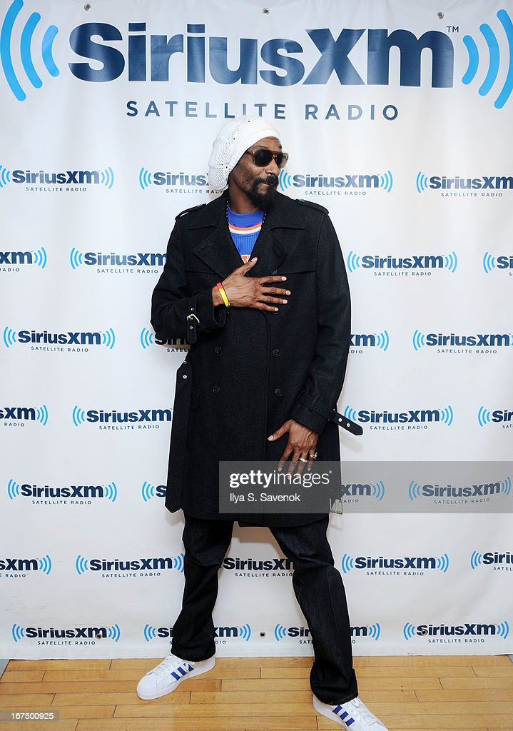 Musician and record producer Snoop Lion visits the SiriusXM Studios on April 25, 2013 in New York City.