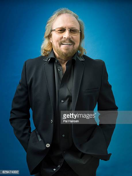 Musician and singer Barry Gibb is photographed for Event magazine on July 8, 2016 in London, England.