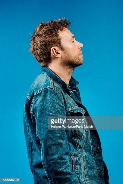 Musician and singer Damon Albarn is photographed for Paris Match on July 9 2014 in Paris France