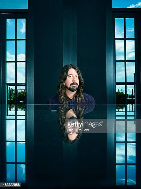 Musician and singer Dave Grohl is photographed for the Independent on May 29, 2015 in London, England.