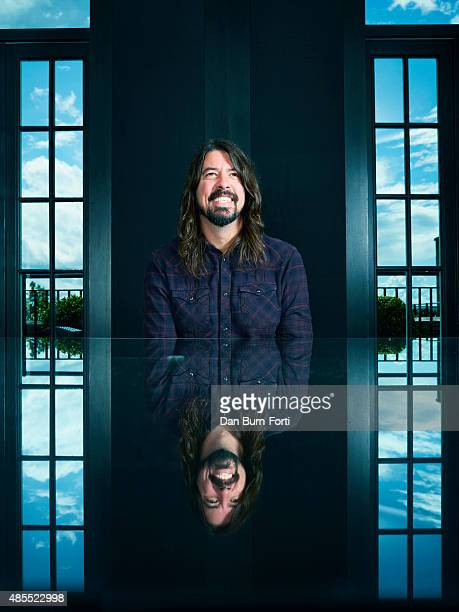 Musician and singer Dave Grohl is photographed for the Independent on May 29 2015 in London England