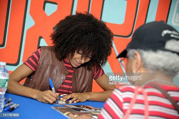 Esperanza Spalding Signs Copies Of The New Album Radio Music