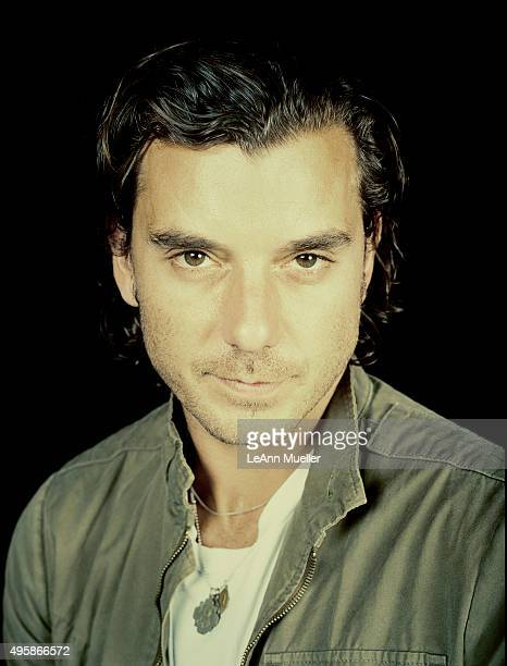 Musician and singer Gavin Rossdale is photographed for Interlude on August 1 2015 in Dallas Texas