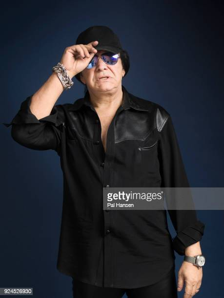 Musician and singer Gene Simmons is photographed for the Observer on November 23 2017 in London England