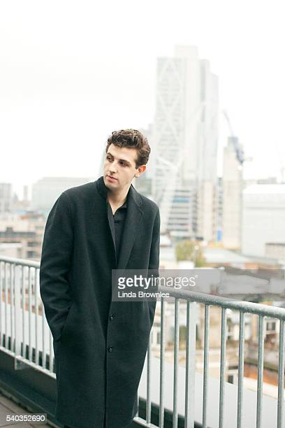 Musician and singer Jamie xx is photographed for Spex on November 19 2015 in London England