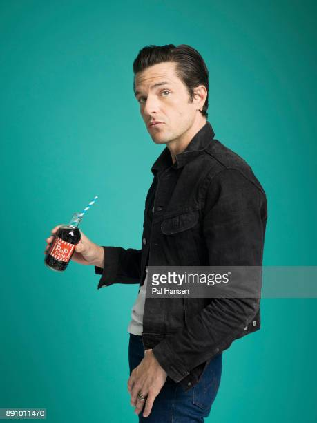 Musician and singer with the rock band the KIllers Brandon Flowers is photographed for the Observer on July 12 2017 in London England