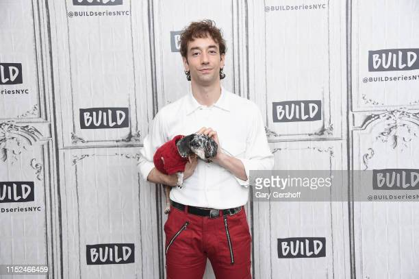 Musician and songwriter Albert Hammond Jr visits the Build Series to discuss the new album 'More to Life' at Build Studio on May 29 2019 in New York...