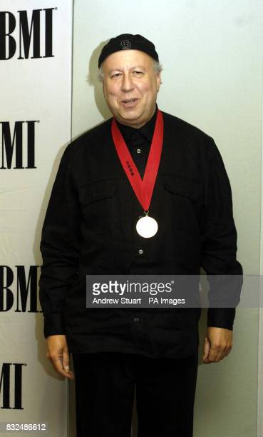 Musician and songwriter Peter Green is honored by the Broadcast Music Inc at the BMI's annual London Awards dinner in the Dorchester Tuesday October...