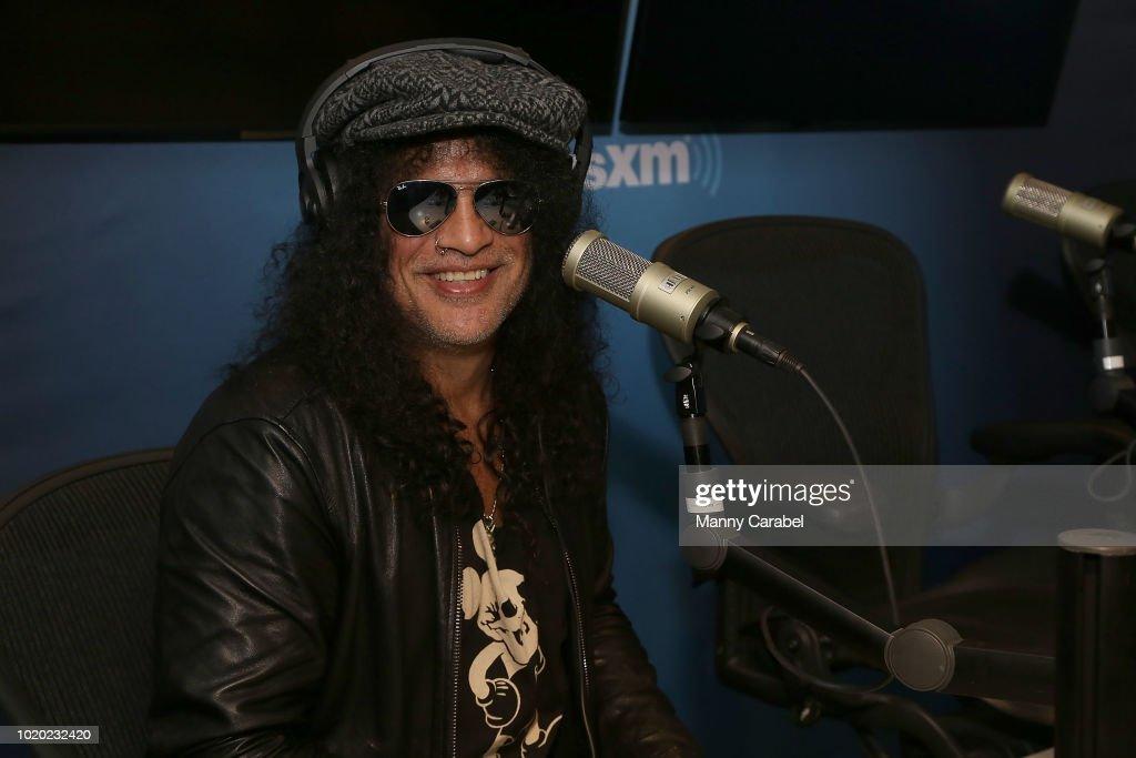 Celebrities Visit SiriusXM - August 20, 2018