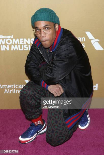 Musician Anderson Paak attends the Billboard's 13th Annual Women in Music event at Pier 36 on December 6 2018 in New York City