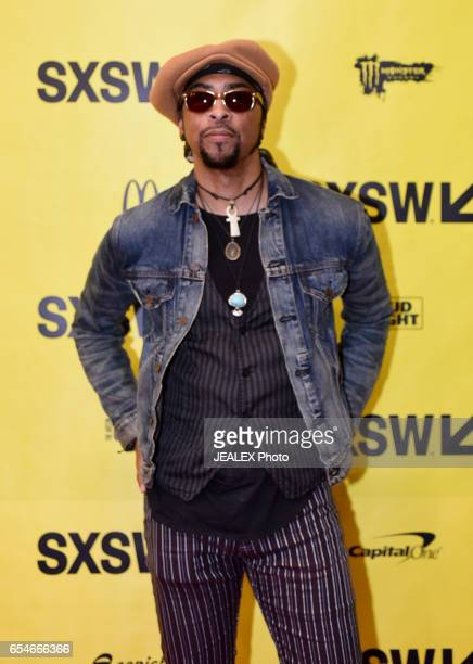 Musician Andre Cymone attends 'Birth of a Purple Nation' during 2017 SXSW Conference and Festivals at Austin Convention Center on March 17 2017 in...