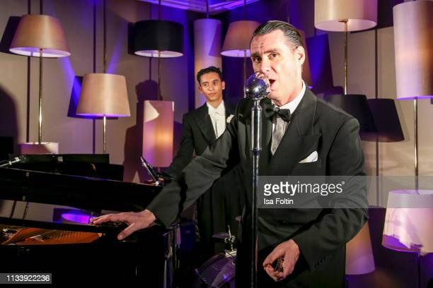 Musician Andrej Hermlin during the Ritz Carlton Berlin ReOpening Party at Ritz Carlton on March 5 2019 in Berlin Germany