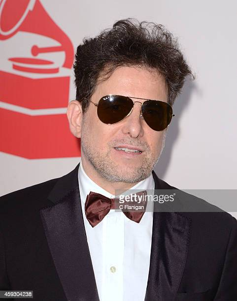Musician Andres Calamaro arrives to the 2014 Latin Grammy Person Of The Year Tribute on November 19 2014 in Las Vegas Nevada