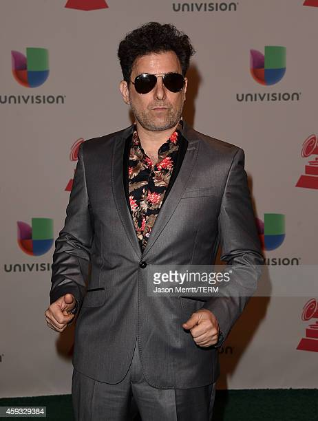 Musician Andres Calamaro attends the 15th Annual Latin GRAMMY Awards at the MGM Grand Garden Arena on November 20 2014 in Las Vegas Nevada