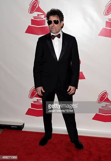Musician Andres Calamaro attends the 2014 Person of the Year honoring Joan Manuel Serrat at the Mandalay Bay Events Center on November 19 2014 in Las...