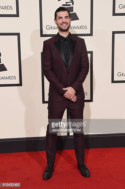 Musician Andrew Cedar attends The 58th GRAMMY Awards at Staples Center on February 15 2016 in Los Angeles California