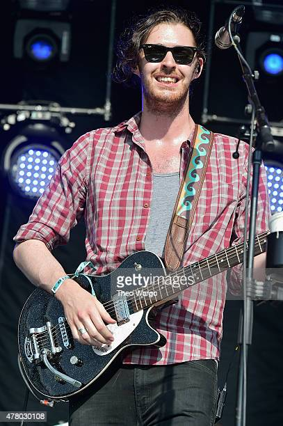 Musician Andrew HozierByrne of Hozier performs onstage during day 4 of the Firefly Music Festival on June 21 2015 in Dover Delaware