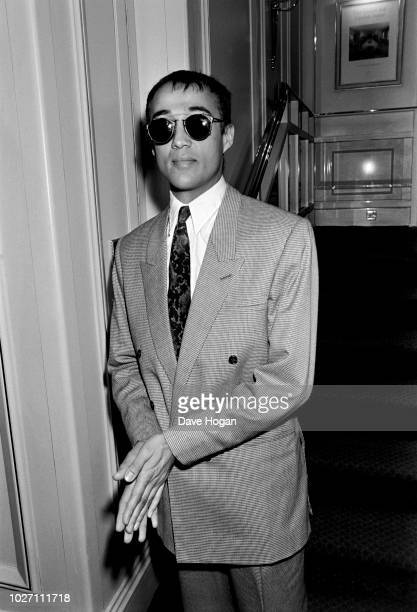 Musician Andrew Ridgeley attends an award ceremony in London circa 198084