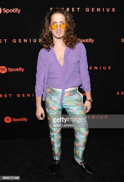 Musician Andrew Watt attends Spotify's inaugural Secret Genius Awards at Vibiana Cathedral on November 1 2017 in Los Angeles California