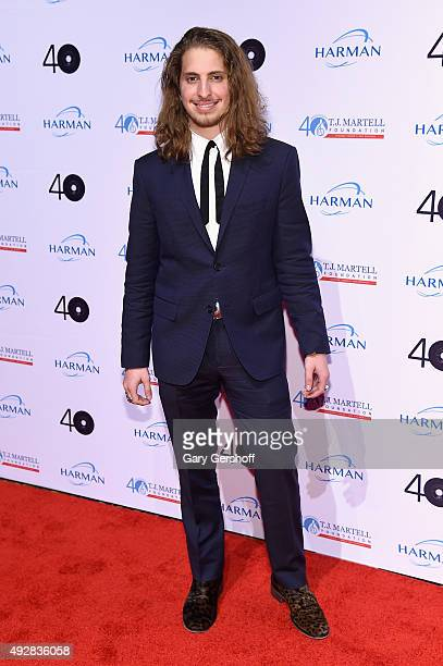 Musician Andrew Watt attends the TJ Martell 40th Anniversary NY Gala at Cipriani Wall Street on October 15 2015 in New York City