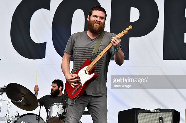 Musician Andy Hull of Manchester Orchestra performs onstage during day 2 of the Firefly Music Festival on June 19, 2015 in Dover, Delaware.