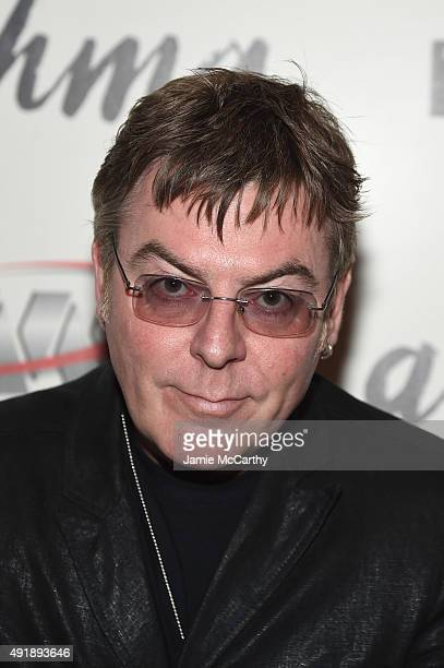 Musician Andy Rourke attends a screening of IFC Films' 'Asthma' hosted by The Cinema Society and Northwest at Roxy Hotel on October 8 2015 in New...