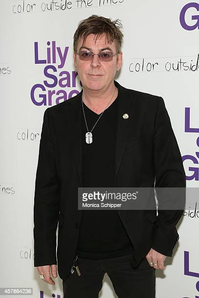 Musician Andy Rourke attends LilySarahGrace Presents Color Outside The Lines at Jack Studios on October 25 2014 in New York City
