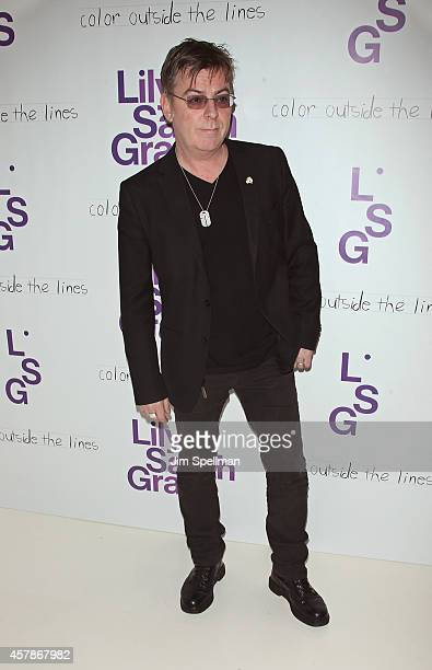 Musician Andy Rourke attends the LilySarahGrace Presents Color Outside The Lines at Jack Studios on October 25 2014 in New York City