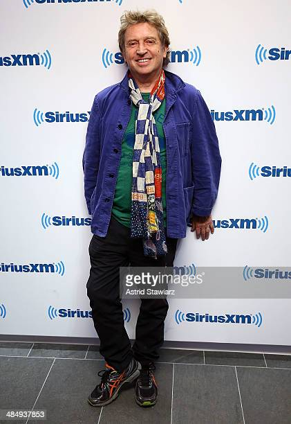 Musician Andy Summers visits the SiriusXM Studios on April 15 2014 in New York City