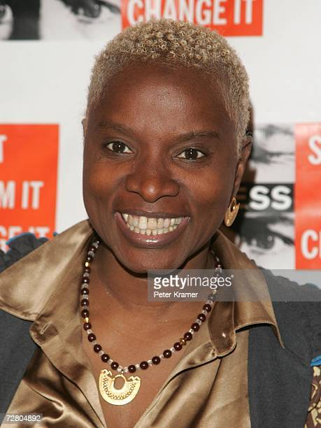 Musician Angelique Kidjo attends the second annual gala dinner and concert to benefit Witness which helps promote human rights causes worldwide...