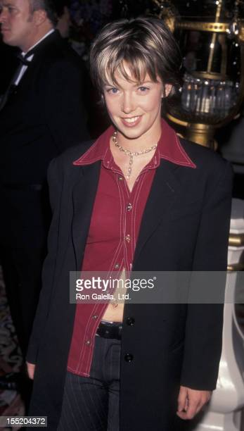 Musician Ani DiFranco attends Clive Davis Arista Records Grammy Party on February 24 1998 at the Plaza Hotel in New York City
