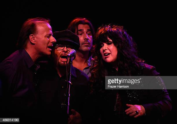 Musician Ann Wilson of Heart performs at The Best Fest Presents GEORGE FEST An Evening To Celebrate The Music Of George Harrison at The Fonda Theatre...