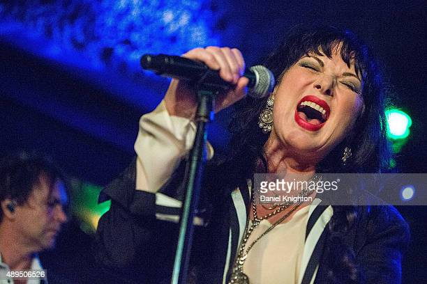 Musician Ann Wilson of The Ann Wilson Thing performs on stage at Belly Up Tavern on September 21, 2015 in Solana Beach, California.