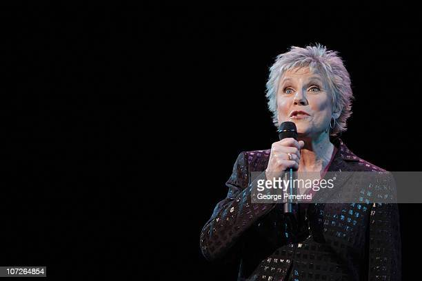 """Musician Anne Murray performs at The 6th Annual """"It's Always Something"""" Variety Show in Support of the Gilda's Club at the Elgin Theatre on November..."""