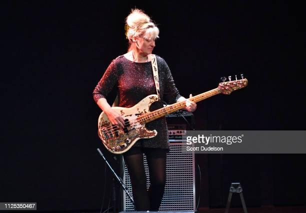 Musician Annette Zilinskas of The Bangles performs onstage during 80's Weekend at Microsoft Theater on January 26 2019 in Los Angeles California