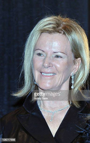 Musician AnniFrid Prinsessan Reuss of ABBA attends the 25th Annual Rock and Roll Hall of Fame Induction Ceremony at The WaldorfAstoria on March 15...