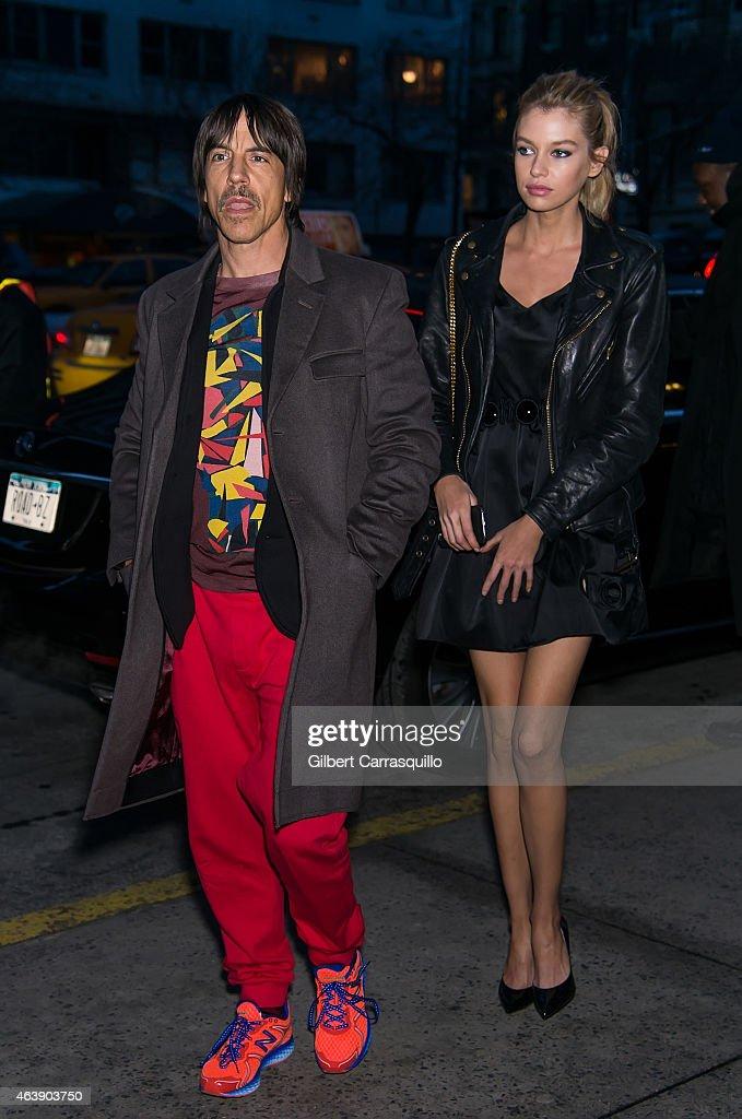 Celebrity Sightings - February 19, 2015 - Fall 2015 Mercedes-Benz Fashion Week : News Photo