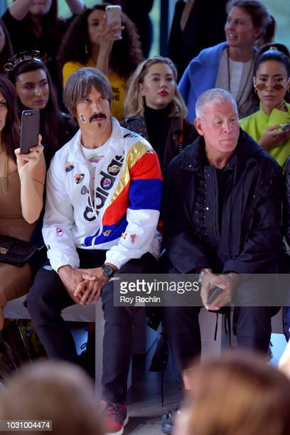 Musician Anthony Kiedis attends the Libertine show in Gallery II during New York Fashion Week The Shows on September 10 2018 in New York City