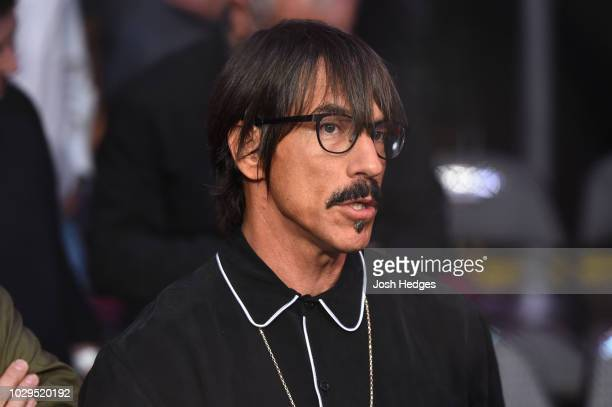 Musician Anthony Kiedis is seen in attendance during the UFC 228 event at American Airlines Center on September 8 2018 in Dallas Texas