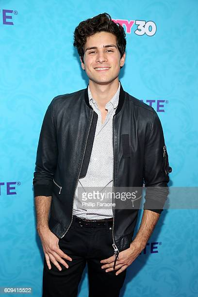 Musician Anthony Padilla attends the premiere of Lionsgate's Dirty 30 at ArcLight Hollywood on September 20 2016 in Hollywood California