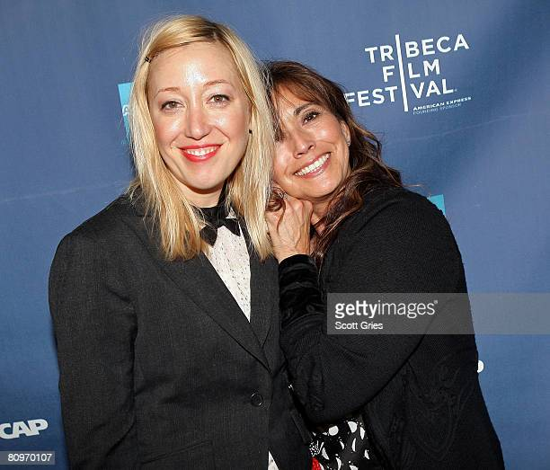 Musician Anya Marina and Loretta Munoz of ASCAP pose at the Tribeca ASCAP Music Lounge held at the Canal Room during the 2008 Tribeca Film Festival...