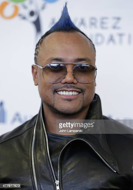 Musician apl.de.ap. Attends the Pinoy Relief Benefit concert at Madison Square Garden on March 11, 2014 in New York City.