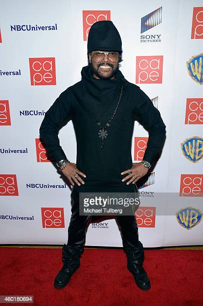 Musician apldeap of the Black Eyed Peas attends the CAPE Holiday Party at El Rey Theatre on December 8 2014 in Los Angeles California