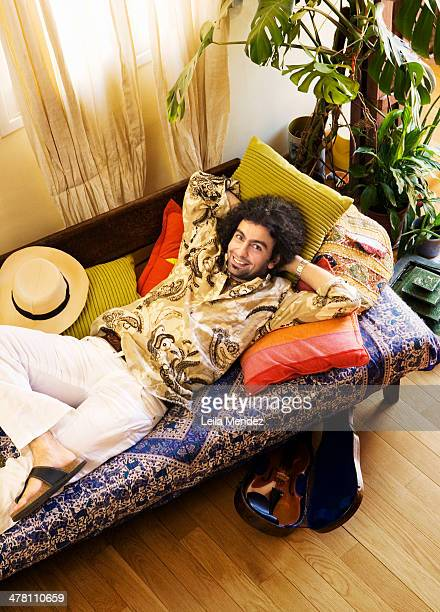 Musician Ara Malikian is photographed for El Pais in Madrid Spain