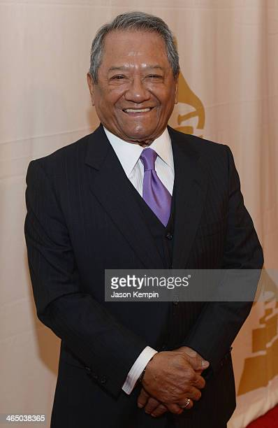 Musician Armando Manzanero attends the Special Merit Awards Ceremony as part of the 56th GRAMMY Awards on January 25 2014 in Los Angeles California